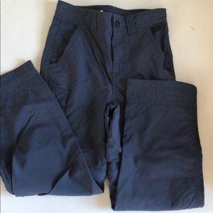 Llbean boys 8 hiking cargo long pants